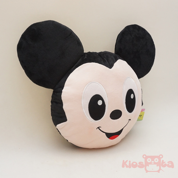 bantal kepala mickey mouse bulat original disney