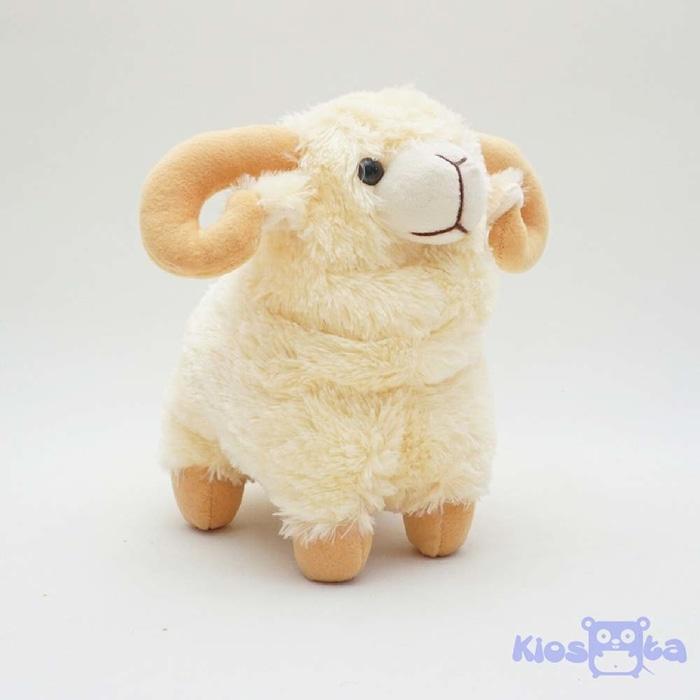 Boneka Binatang Boneka Domba Tanduk Kambing Gunung M Kiosqta 3ff5e21852