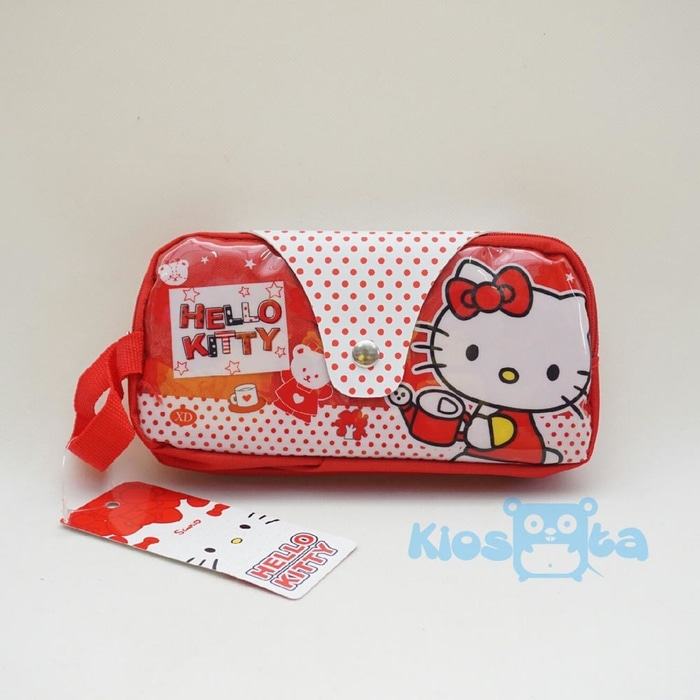tempat pensil hello kitty red ...