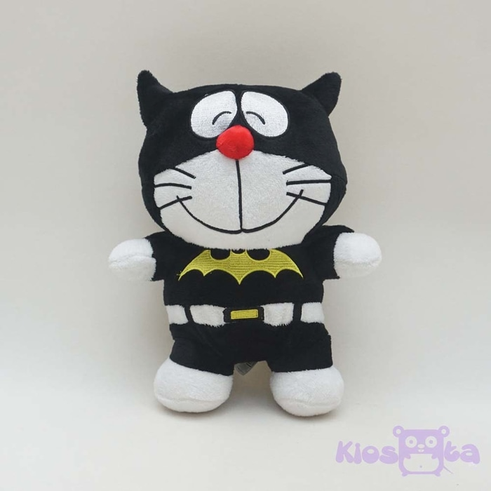 boneka doraemon kostum batman medium