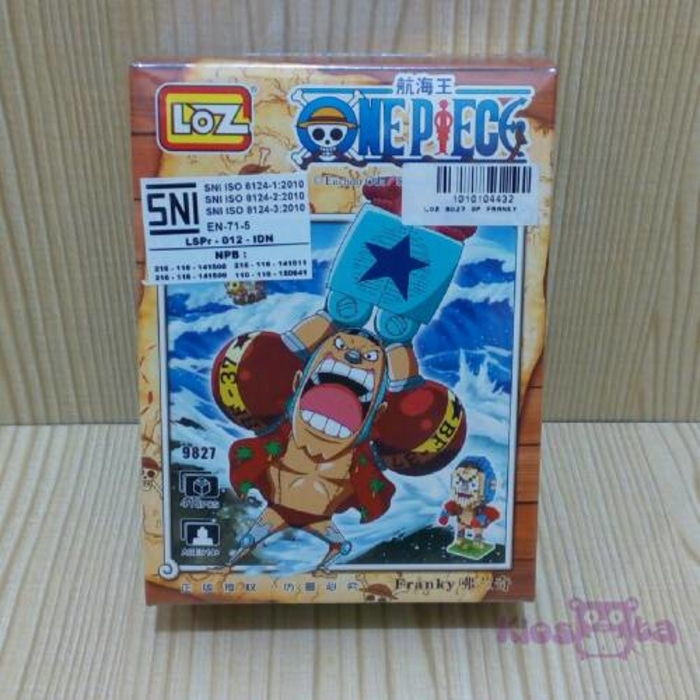 loz nanoblocks one piece franky